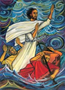 Jesus Calming the Storm