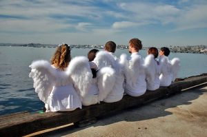 People with wings