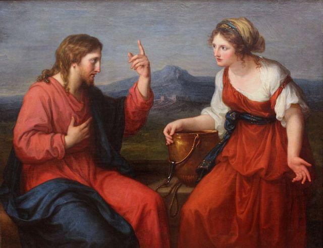 800px-Angelika_Kauffmann_-_Christus_und_die_Samariterin_am_Brunnen_-1796