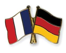 Germany and France Flag Pins