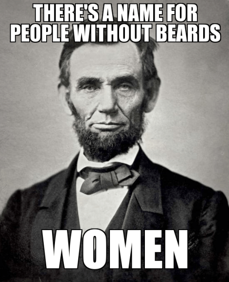 Beards and Abraham Lincoln