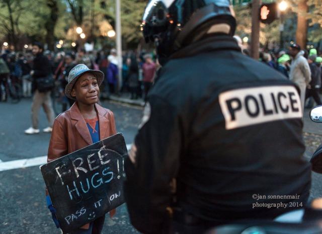 Hug the Police