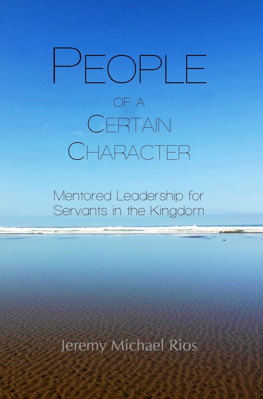 Announcing a New Book! People of a Certain Character