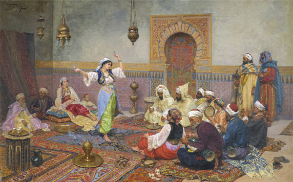 Orientalism_Giulio Rosati The Dance