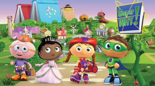 Super Why_full cast