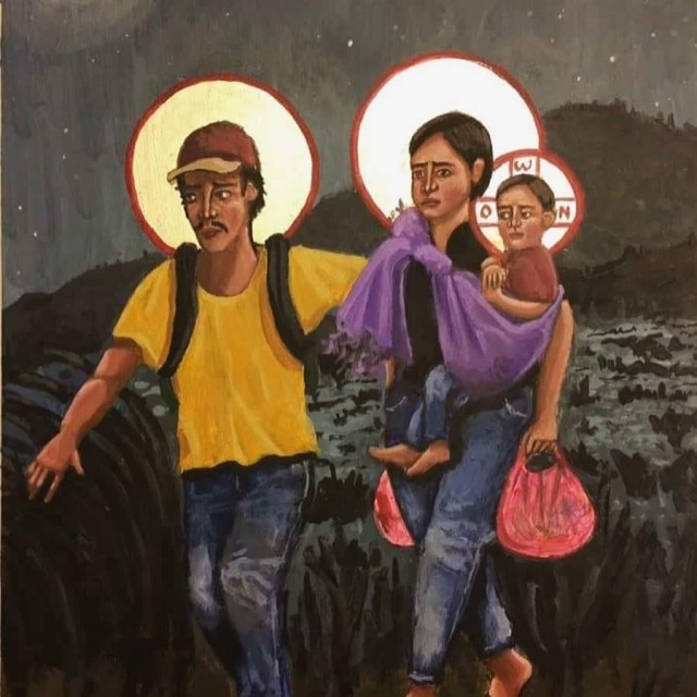 Immigration_Holy Family as Refugees_Kelly Latimore