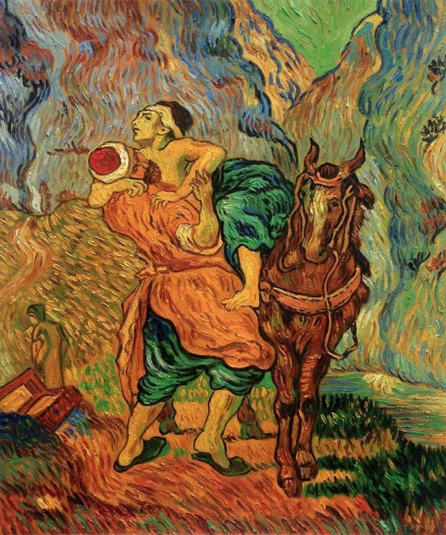The_Good_Samaritan_After_Delacroix_-_Vincent_Van_Gogh
