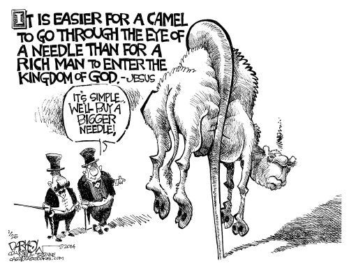 Camel_Needle Cartoon