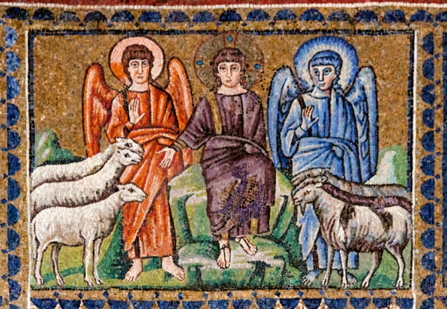 Sheep and Goats_Mosaic