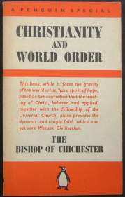 Christianity and World Order