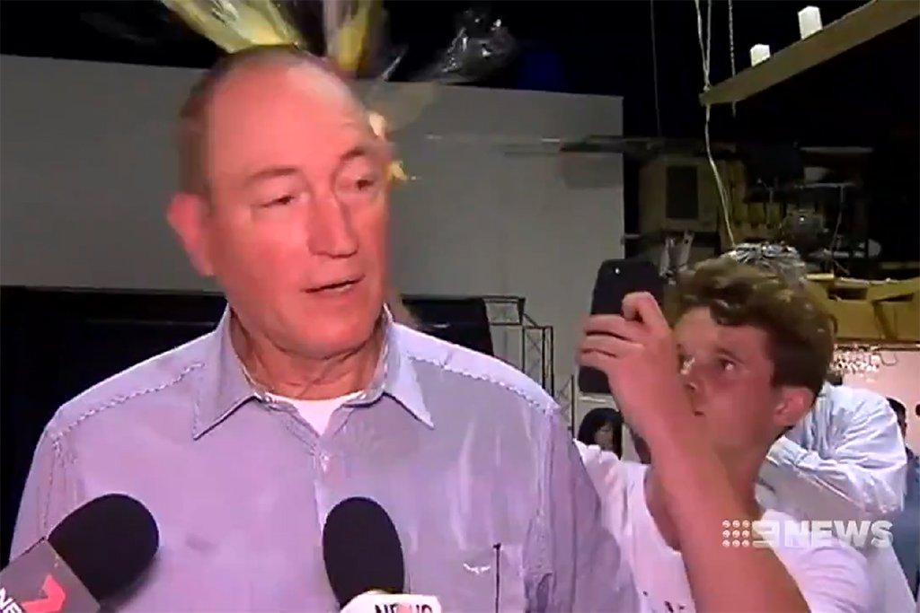 Fraser Anning Egg