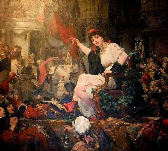 Profanation of Notre Dame in the French Revolution